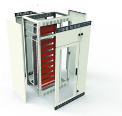 Tableros eléctricos, gabinetes y envolventes metálicos