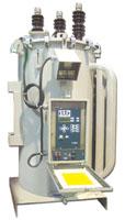 Regulador de tensión monofásico para redes de distribución de hasta 35,5 kV.